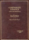 Markham and Hazen's Corporate Finance (American Casebook Series]) - Jerry Markham, Thomas Lee Hazen