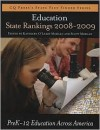 Education State Rankings 2008 2009: Pre K 12 Education In The 50 United States - Kathleen O'Leary Morgan, Scott Morgan, Kathleen O'Leary
