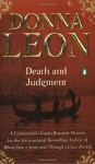 Death and Judgment (Guido Brunetti Series #4) - Donna Leon, Anna Fields