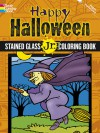 Happy Halloween Stained Glass Jr. Coloring Book - Cathy Beylon