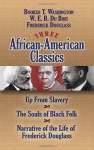 Three African-American Classics: Up from Slavery, The Souls of Black Folk and Narrative of the Life of Frederick Douglass - W.E.B. Du Bois, Frederick Douglass, Booker T. Washington