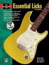 Basix Essential Licks for Guitar: Book & CD - Steve Hall