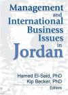 Management and International Business Issues in Jordan - Kip Becker