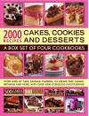 2000 Recipes: Cakes, Cookies & Desserts. Edited by Ann Kay ... [Et Al.] - Ann Kay, Felicity Forster, Catherine Atkinson, Martha Day