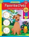 Favorite Pets: A step-by-step drawing and story book for preschoolers (Watch Me Draw) - Jenna Winterberg, Diana Fisher