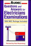 Audel Questions and Answers for Electricians Examinations: 1996 NEC Rulings Included - Paul Rosenberg