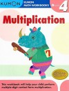 Grade 4 Multiplication (Kumon Math Workbooks) - Kumon Publishing, Michiko Tachimoto