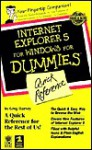 Internet Explorer 5 for Windows for Dummies Quick Reference - Greg Harvey