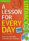 Literacy Ages 4-5 - Moorcroft, Christine Moorcroft
