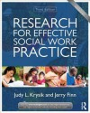 Research for Effective Social Work Practice (New Directions in Social Work) - Judy Krysik, Jerry Finn