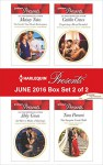 Harlequin Presents June 2016 - Box Set 2 of 2: The Greek's Nine-Month RedemptionAn Heir to Make a MarriageExpecting a Royal ScandalThe Surprise Conti Child (One Night With Consequences) - Maisey Yates, Abby Green, Caitlin Crews, Tara Pammi