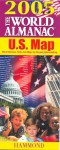 The World Almanac 2005 U.S. Map: World Almanac Facts Join Maps For Deeper Understanding - Hammond World Atlas Corporation