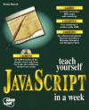 Teach Yourself Javascript In A Week - Arman Danesh