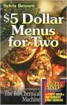 $5 Dollar Menus for Two - Sylvia Bennett