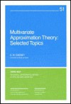 Multivariate Approximation Theory: Selected Topics - E.W. Cheney