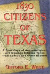 1830 Citizens of Texas - Bill O'Neal