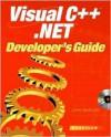 Visual C++.Net: Developers Guide - John Paul Mueller