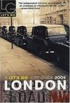 Let's Go London 2005 - Let's Go Inc., Rabia Mir
