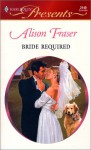 Bride Required - Alison Fraser