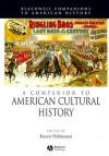 A Companion to American Cultural History - Karen Halttunen