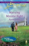 Marrying Minister Right - Annie Jones