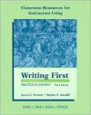 Classroom Resources for Instructors Using Writing First with Readings Practice in Context - Laurie G. Kirzner, Stephen R. Mandell, Linda J. Stine, Linda J. Stengle