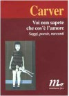 Voi non sapete che cos'è l'amore - Raymond Carver, T. Medugno, Riccardo Duranti