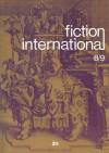 Fiction International 08/09 - Joe David Bellamy