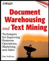 Document Warehousing and Text Mining - Dan Sullivan
