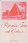 Romantic Texts and Contexts - Donald H. Reiman