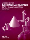 Mechanical Drawing CAD Communications - Thomas Ewing French, Jay D. Helsel, Byron Urbanick
