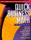 Quick Business Math: A Self-Teaching Guide - Steve Slavin