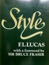 Style - F.L. Lucas