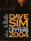 Dave Sim Collected Letters 2004 - Dave Sim