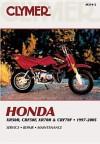 Clymer Honda Xr50r, Crf50f, Xr70r & Crf70f, 1997-2005 - Michael Morlan