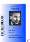 Fiche de lecture Antigone de Jean Anouilh (complète) (French Edition) - Jean Anouilh, Fichebook