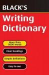 Black's Writing Dictionary - Pie Corbett, T.F. Carmody, Joan Adelaide Hulme