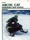 Arctic Cat Snowmobile 1988-89 (Clymer Snowmobile Repair Series) (Clymer Snowmobile Repair Series) - Ron Wright
