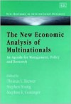 The New Economic Analysis of Multinationals: An Agenda for Management, Policy, and Research - Joseph S. Dumas