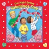 The Night before Valentine's Day (Reading Railroad Books) - Natasha Wing, Heidi Petach
