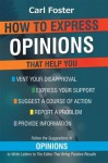 Opinions - Carl Foster