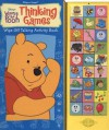 Winnie the Pooh Thinking Games (Wipe Off Sound Book) (Disney's Winnie the Pooh) - Dana Richter, Publications International Ltd., Walt Disney Company