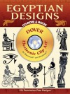 Egyptian Designs CD-ROM and Book - Dover Publications Inc.