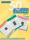 50 Problem-solving Lessons, Grades 1-6: The Best from 10 Years of Math Solutions Newsletters - Marilyn Burns