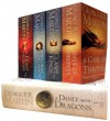 George R.R. Martin's A Game of Thrones 5-Book Boxed Set (Song of Ice and Fire Series): A Game of Thrones, A Clash of Kings, A Storm of Swords, A Feast for Crows, and A Dance with Dragons - George R.R. Martin
