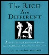 The Rich Are Different - Jon Winokur