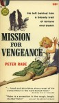 Mission for Vengeance - Peter Rabe