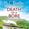 Death of a Bore: Hamish Macbeth, Book 20 - Audible Studios, David Monteath, M.C. Beaton