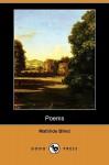 Poems (Dodo Press) - Mathilde Blind