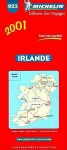 Michelin Irlande Map No. 923, 4e - Michelin Travel Publications